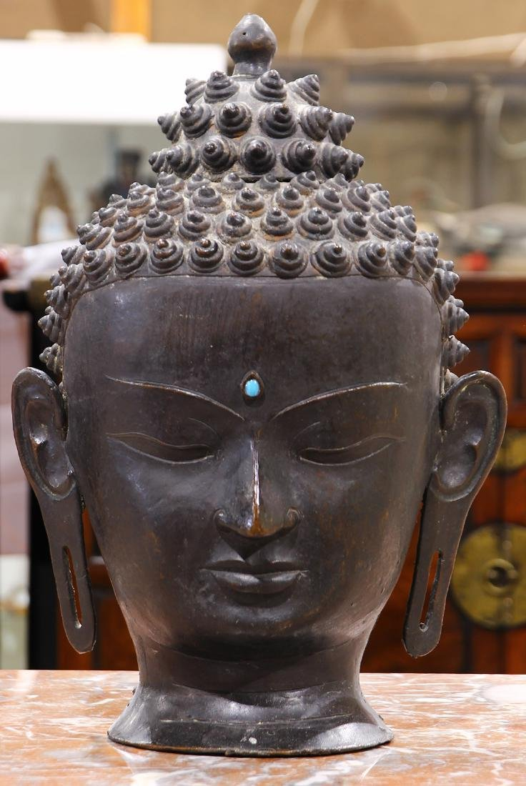 Sino-Tibetan Buddha Head