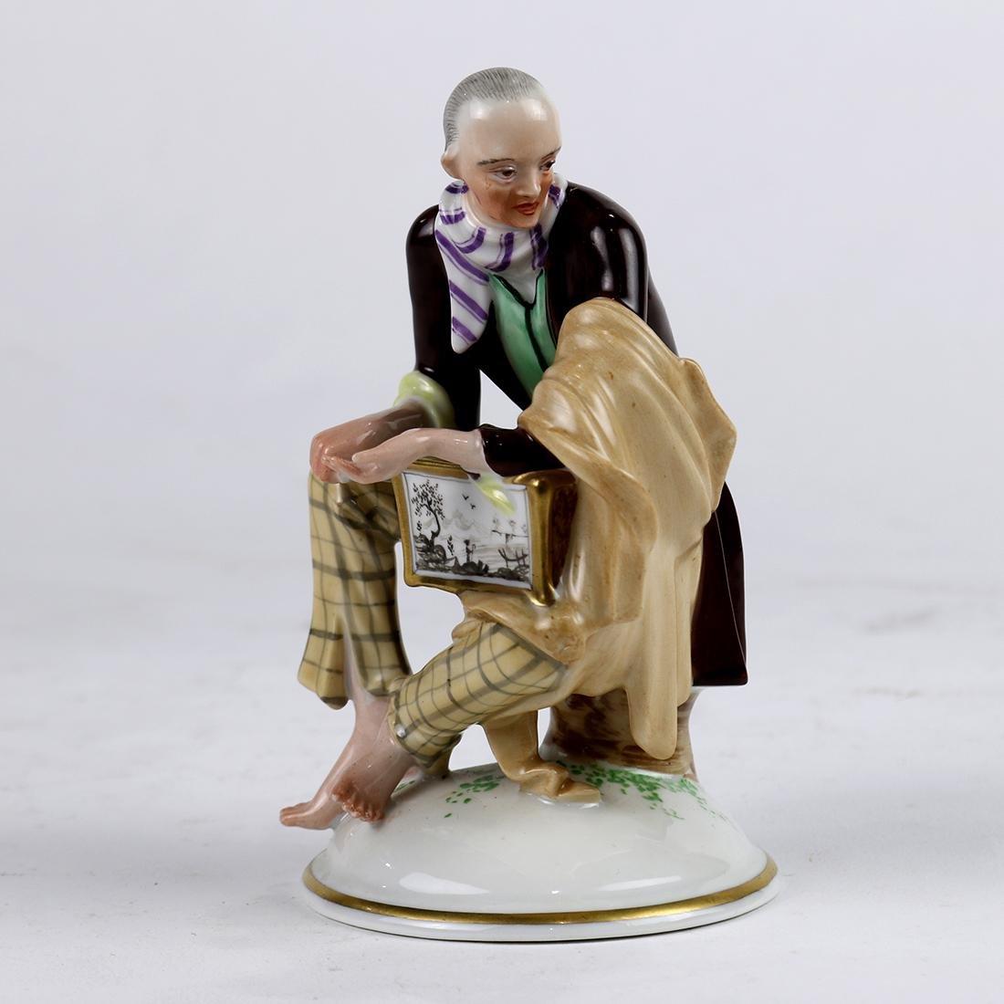 Austrian porcelain figural group