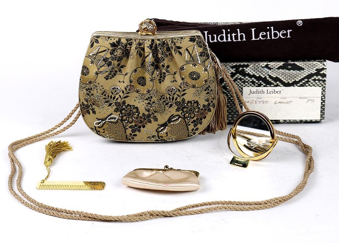 "Judith Leiber ""Gamet"" clutch, having cabochon tiger's"
