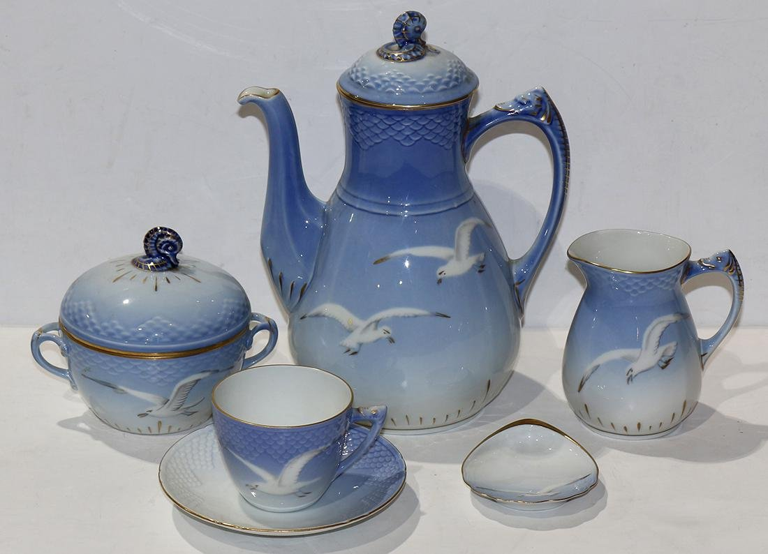(lot of 5) Royal Copenhagen/Bing and Grondahl porcelain