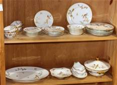 lot of 30 Richard Ginori porcelain table service