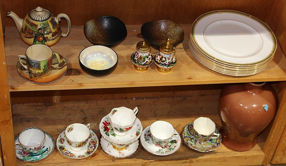 (lot of approx. 28) Assorted porcelain and ceramic