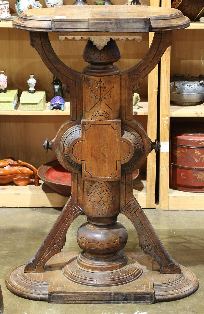 Victorian Neo-Industrial plant stand, circa 1870,