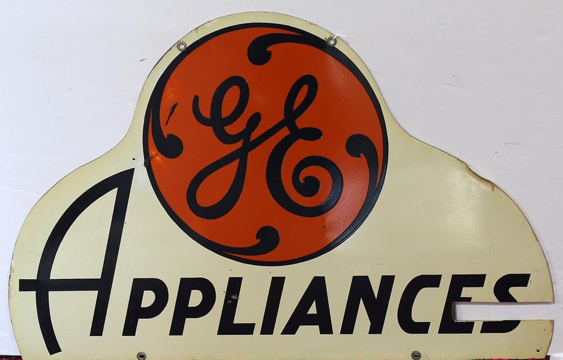 General Electric GE appliances double sided advertising