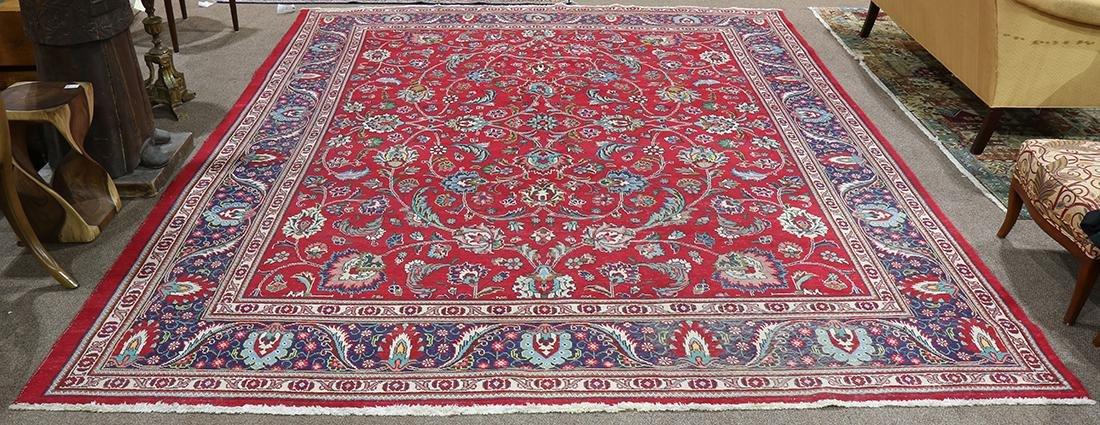 """Persian Herati carpet, 10'8"""" x 8'"""