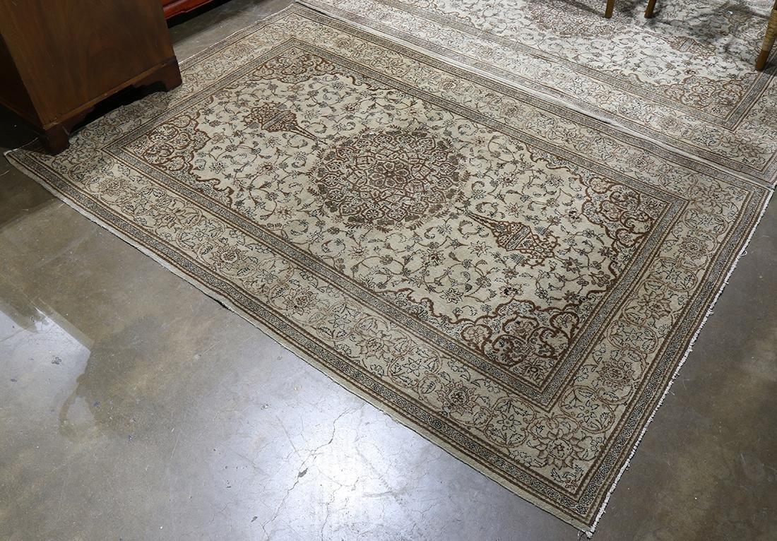 Semi antique Persian Tabriz carpet