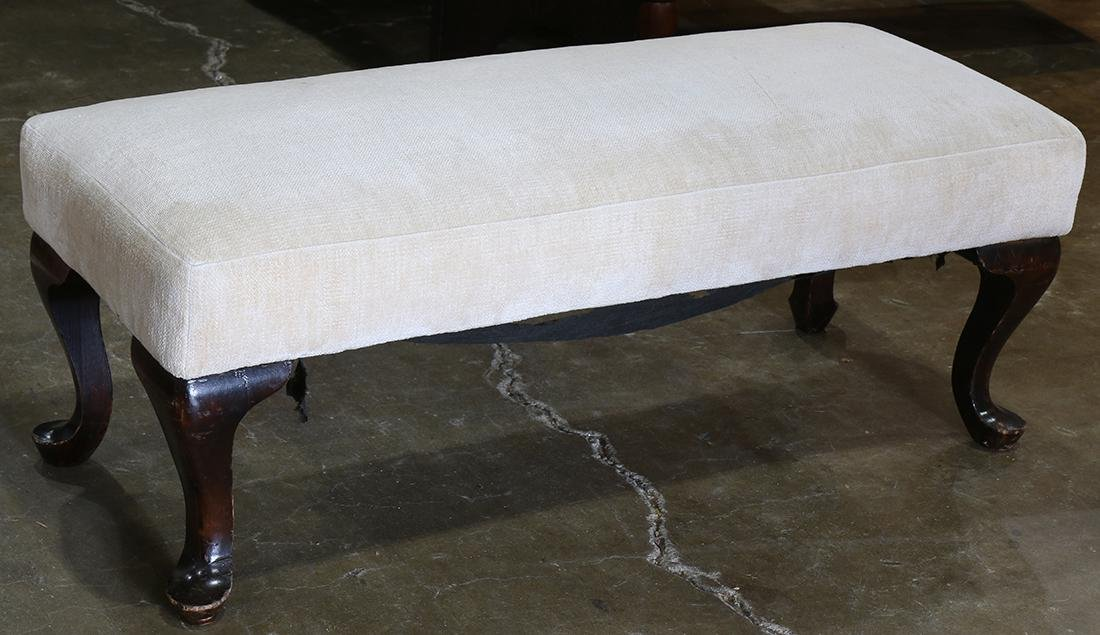 Queen Anne style bench