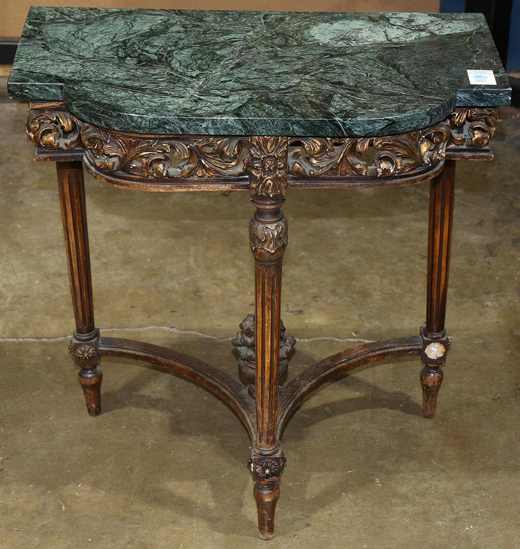 Neoclassical style console table