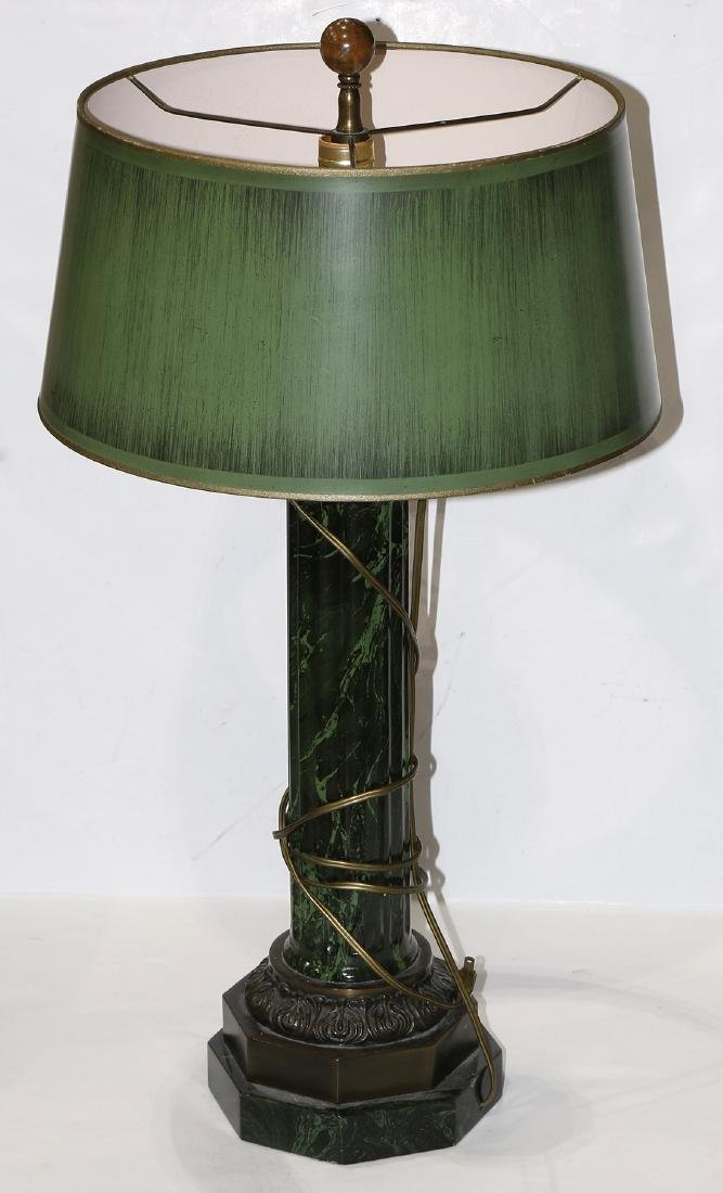 Neoclassical style table lamp