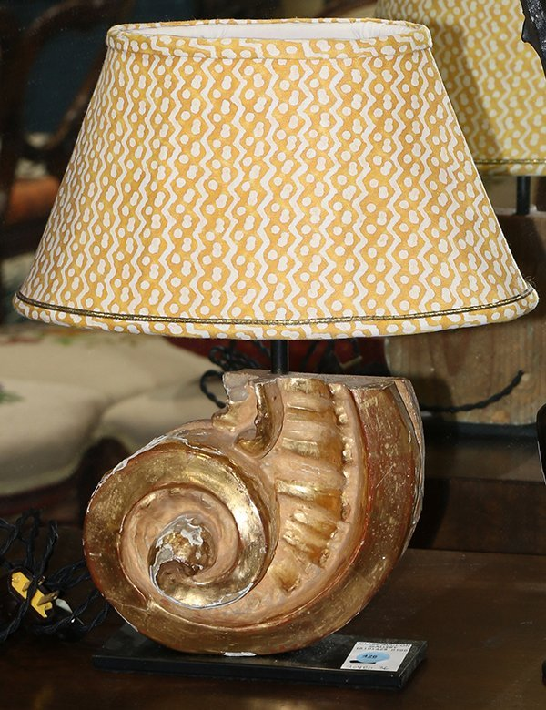 Hollywood Regency style table lamp