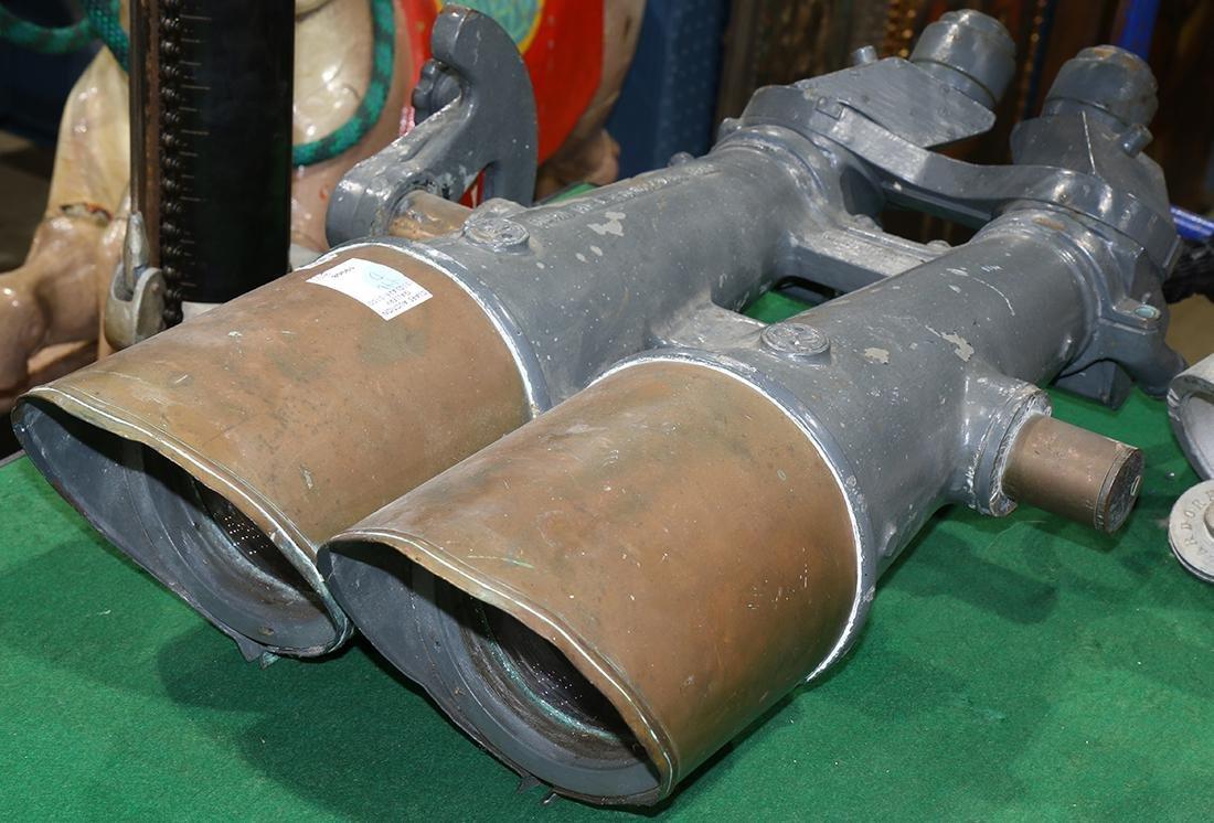 Large naval binoculars