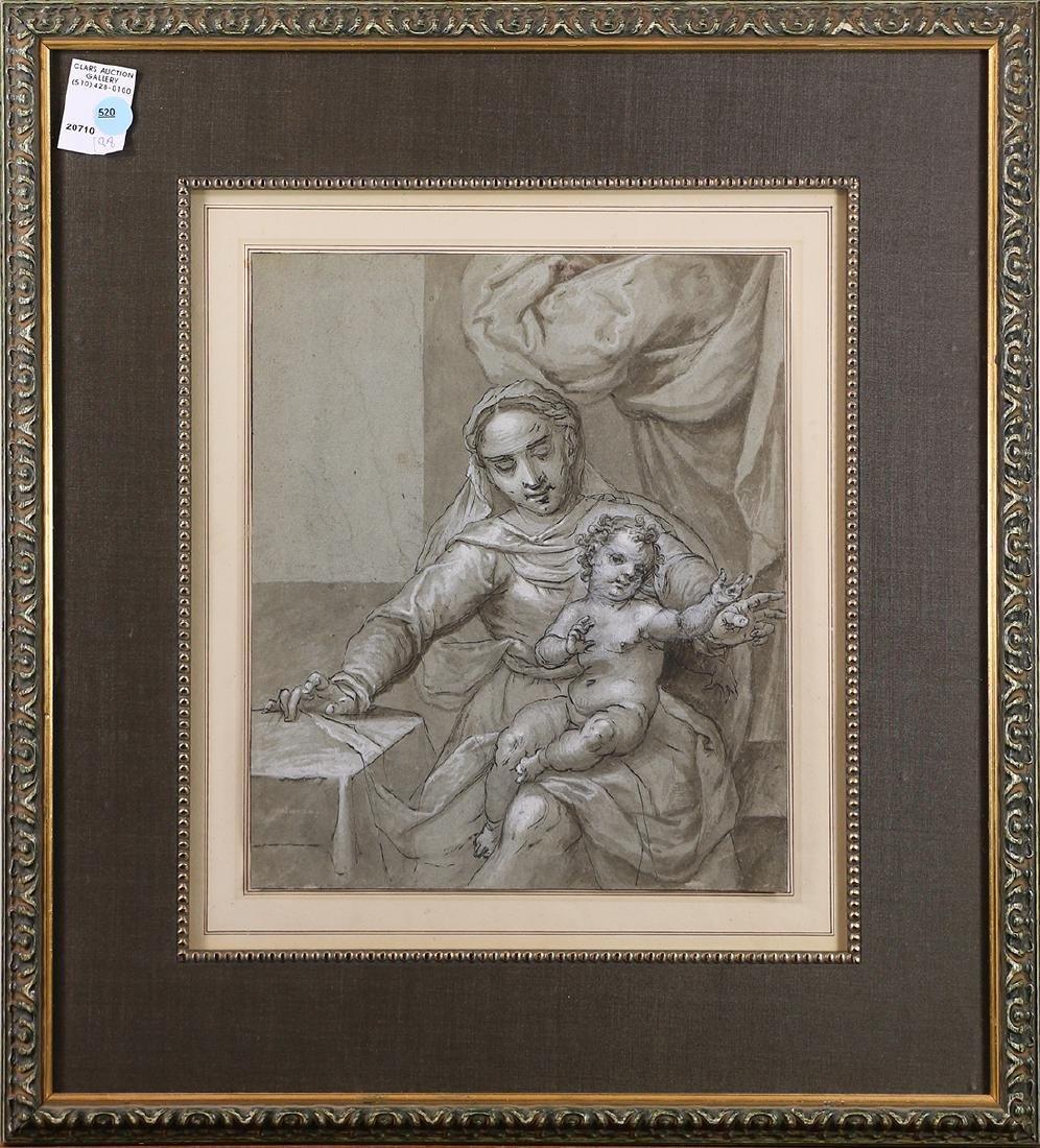 Drawing, European School (18th century)