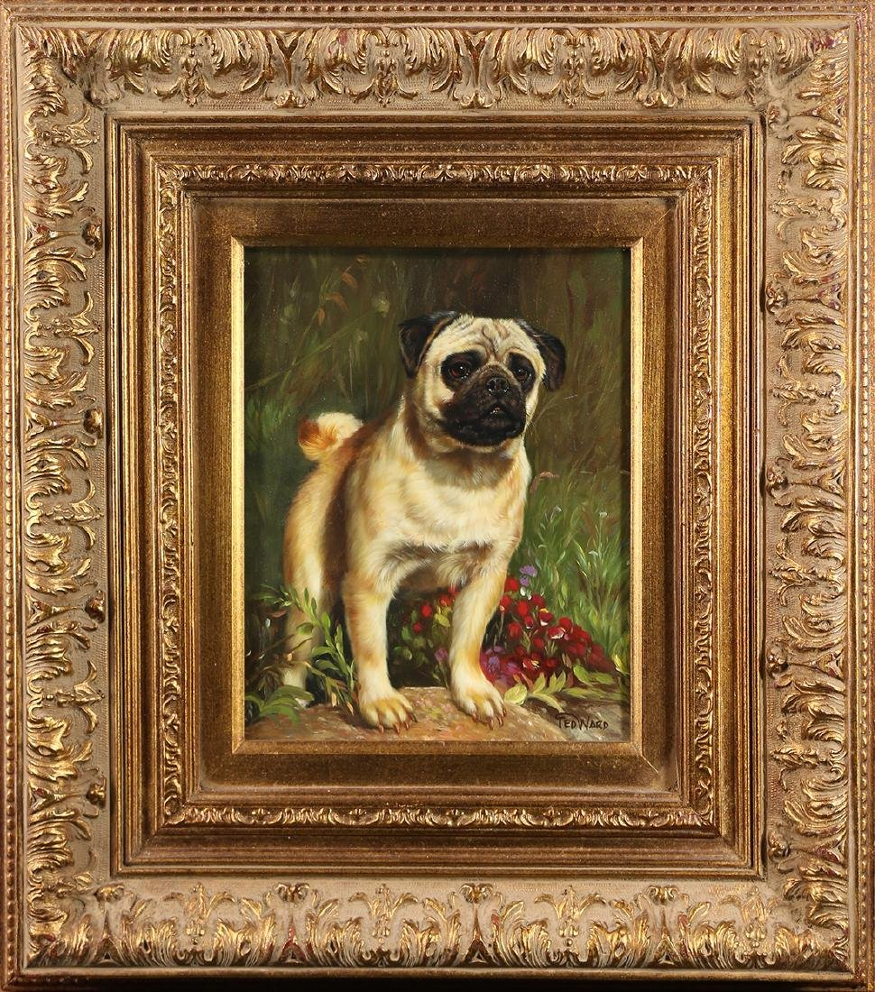 Painting, Portrait of a Pug