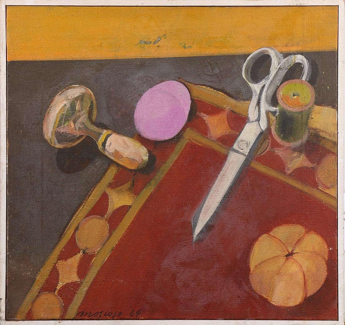 Painting, Victor Moscoso