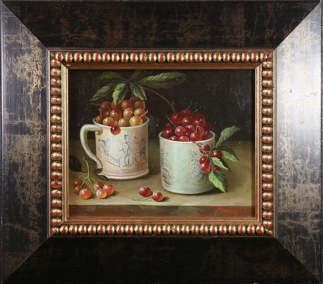 Painting, Still Life with Cherries