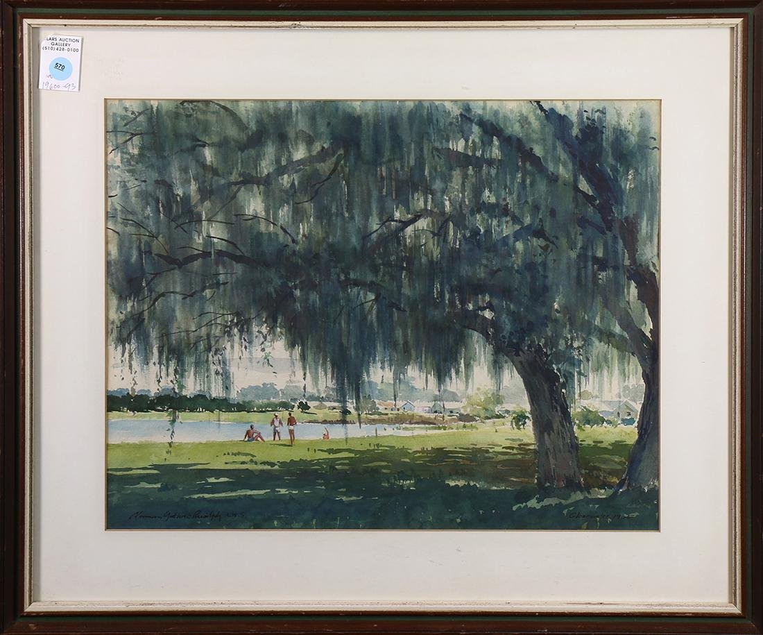 Watercolor, Norman Guthrie Rudolph