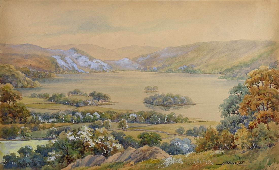 Watercolor, Norman Lee