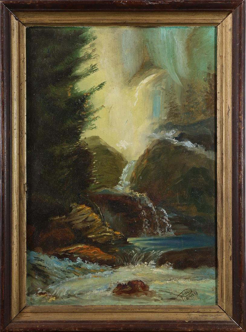 Painting, Waterfall