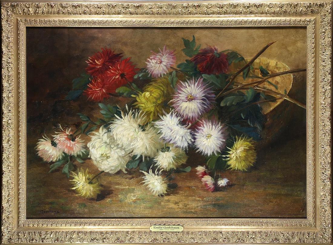 Painting, Emile Godchaux