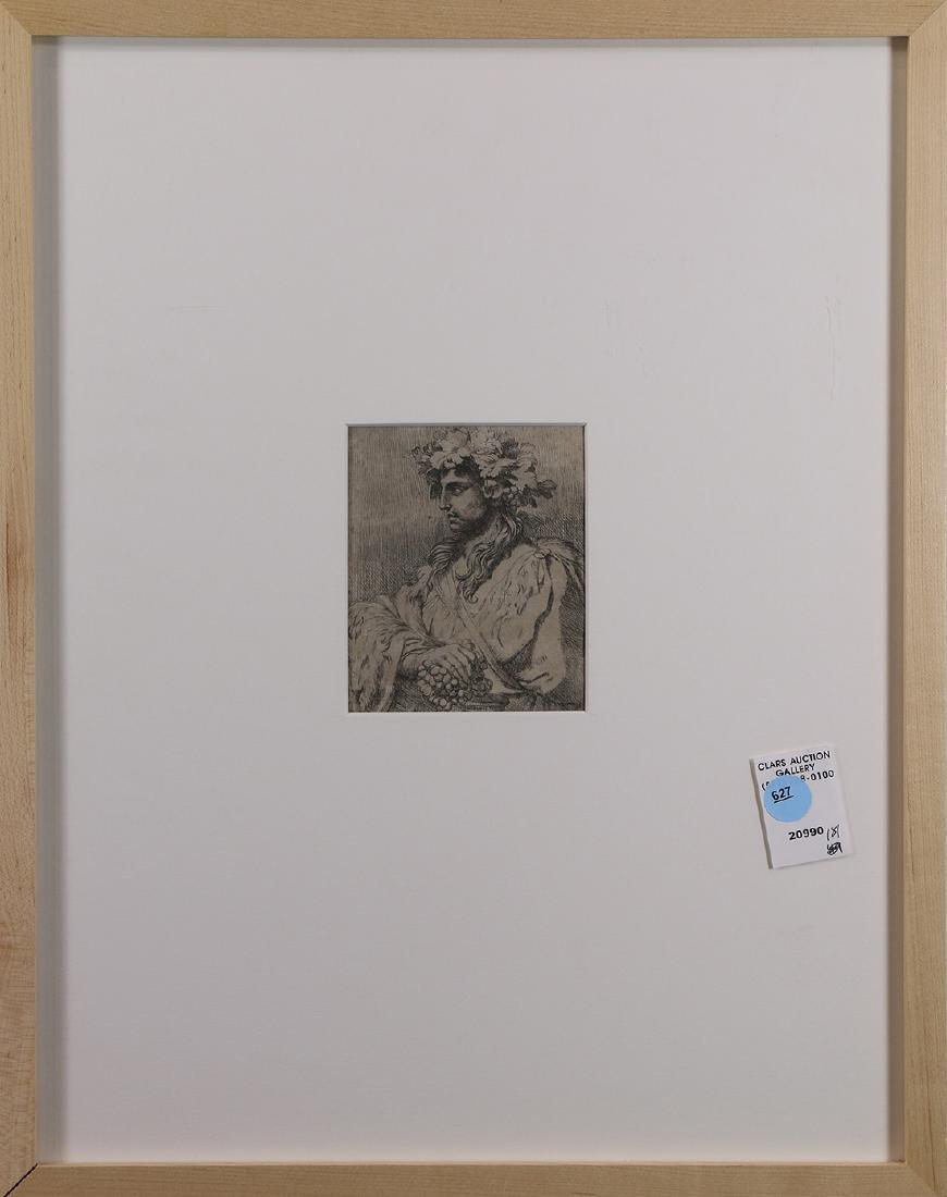 Print, Profile of Dionysus