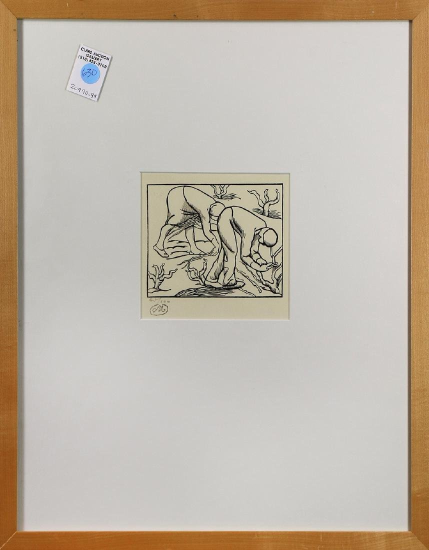 Prints, Aristide Maillol, The Grapevine and Pruning the