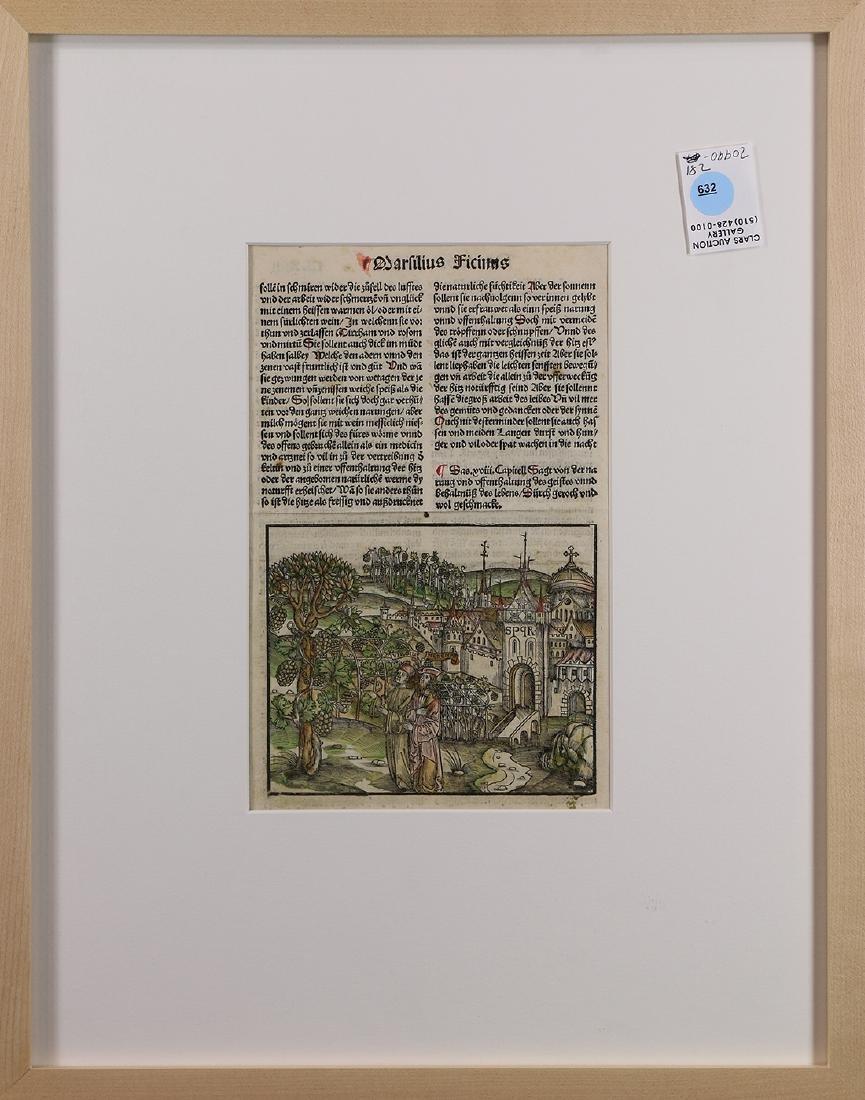 Print, Marsilius Ficinus,