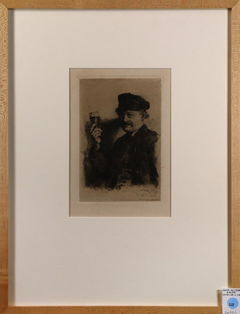 Print, Wilhelm Maria Hubertus Leibl