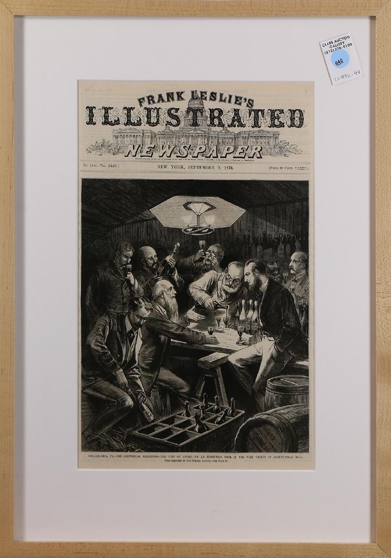 Print, Philadelphia, PA, The Centennial Exposition, the