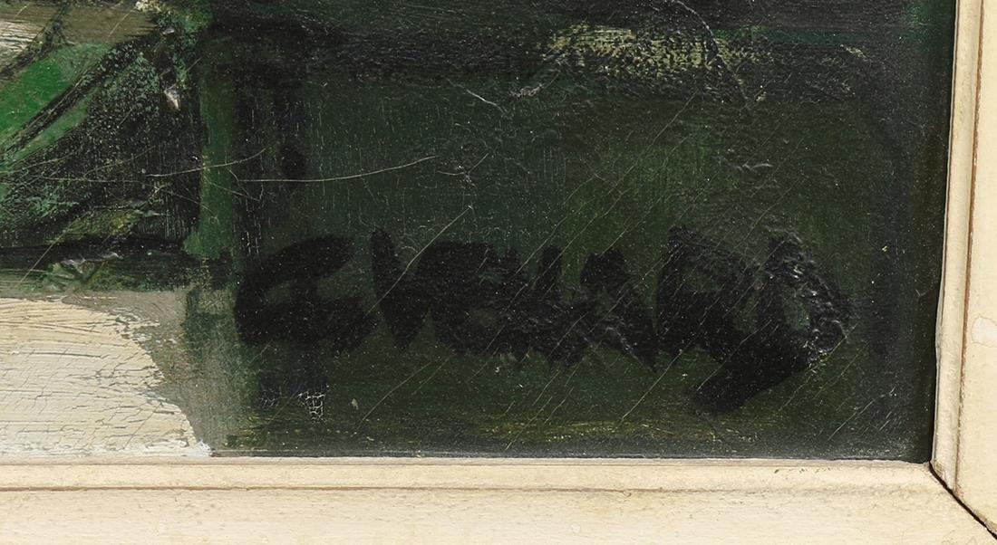 Painting, Claude Venard - 2
