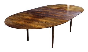 Finn Juhl Judas Rosewood Dining Table Circa 1950