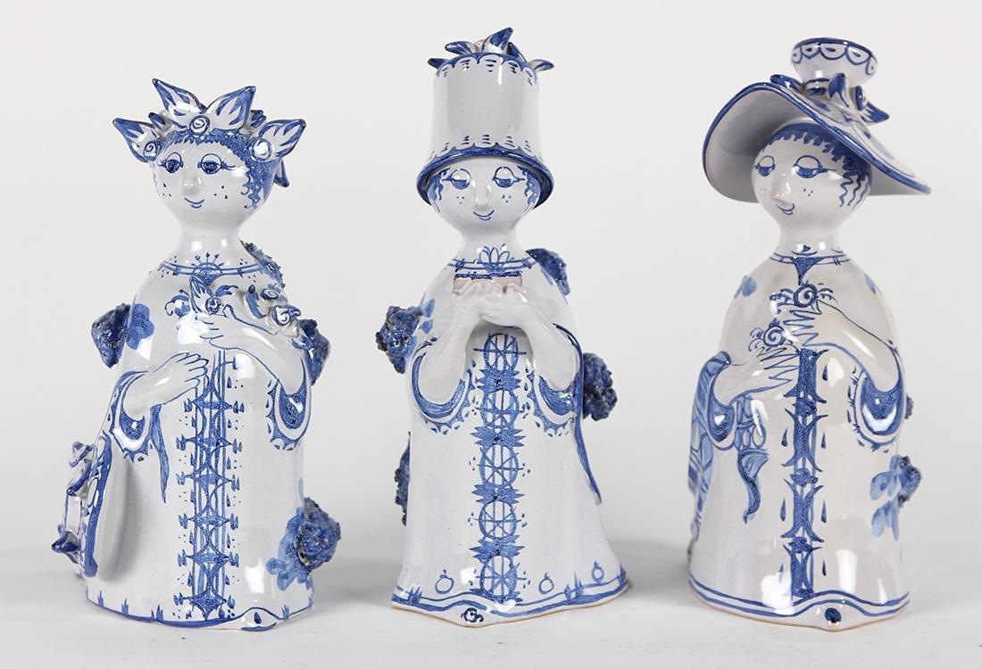 Danish Bjorn Wiinblad ceramic figures