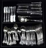 Gorham sterling silver partial flatware service