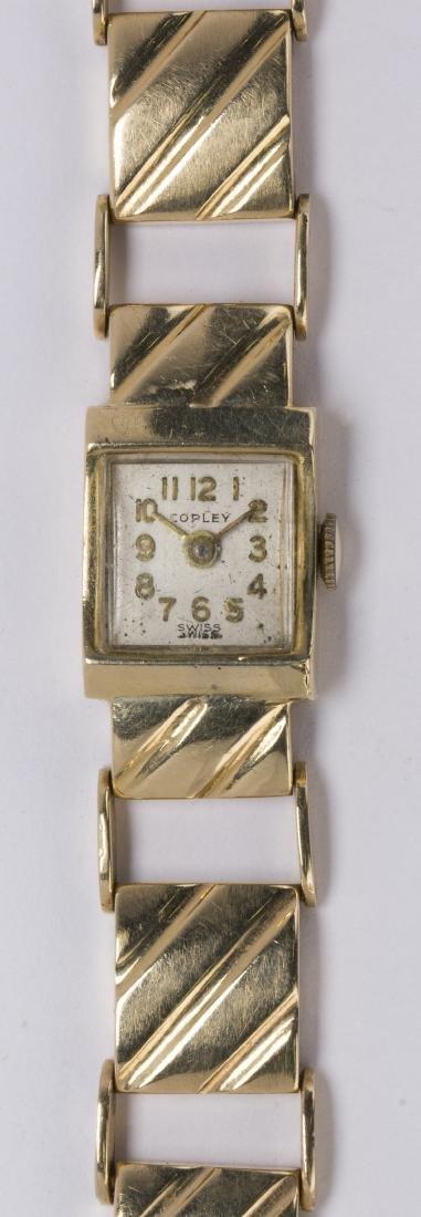 Lady's 14k yellow gold wristwatch