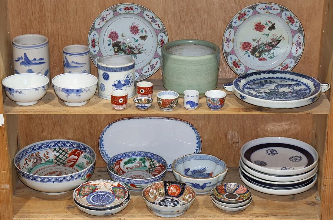 Chinese Export and Japanese Ceramics: Imari Bowls,