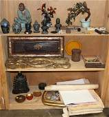 Chinese Decorative Items, Southeast Asian Sculptures