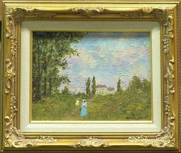1: Painting Martin Jewell Landscape