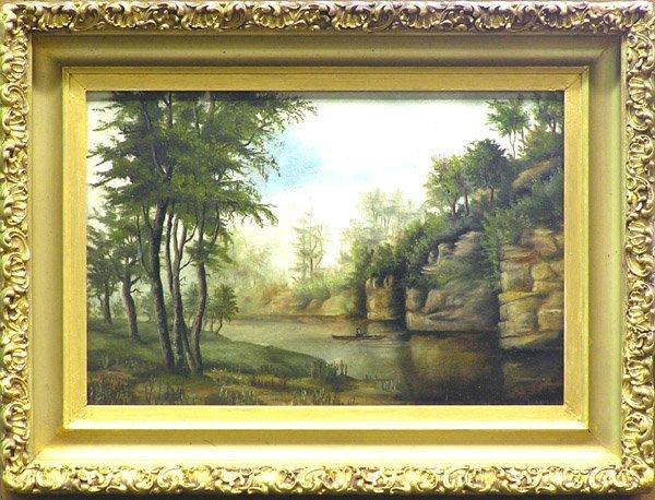3: Painting Landscape E. Bovee Lewis
