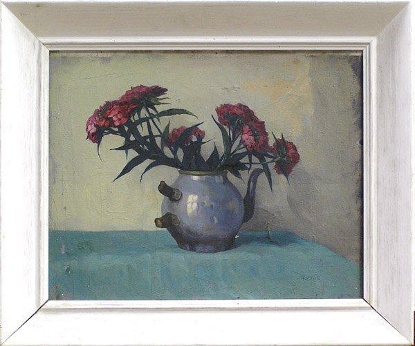 4: Framed oil, Still Life A.v. Sloot