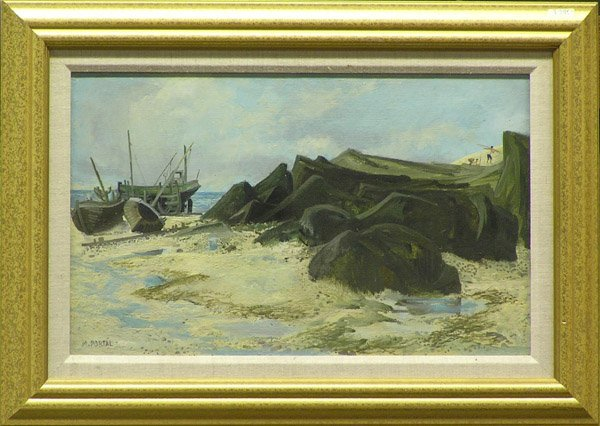 7: Painting Maurice Portal French Marine
