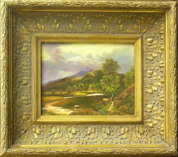 8: Paintings landscapes