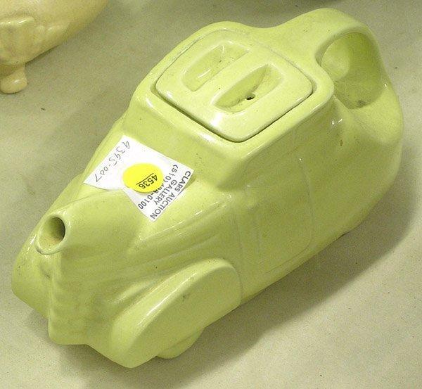 13: Hall China Company Automobile teapot