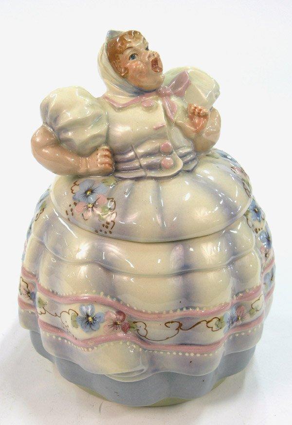 16: Helen Hutula's Tat-L-Tale cookie jar