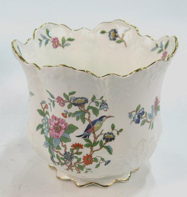 17: Royal Aynsley English china cache-pot