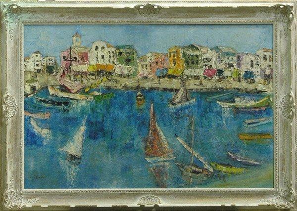 312: Painting Harbor Maritime Brunn