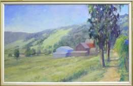 2103: painting Louise Noack Gray Californian