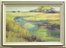 2104: painting Louise Noack Gray Californian