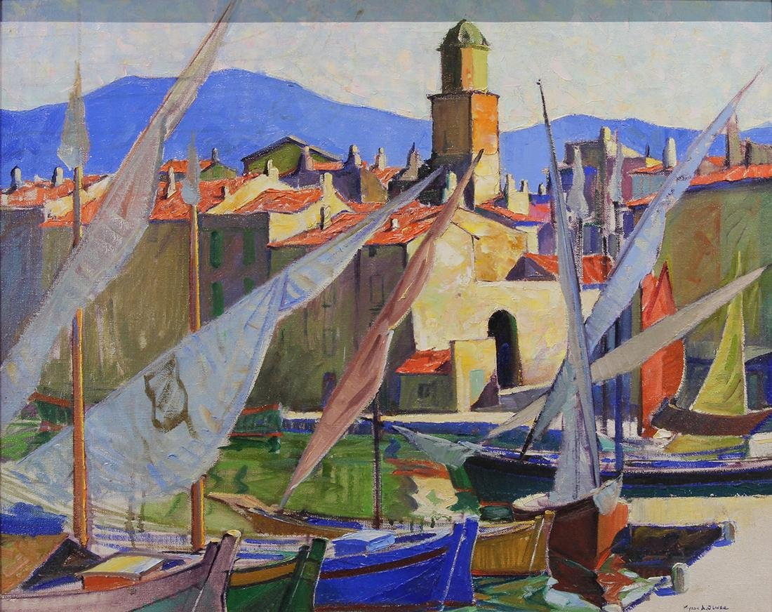 Painting, Myron Oliver