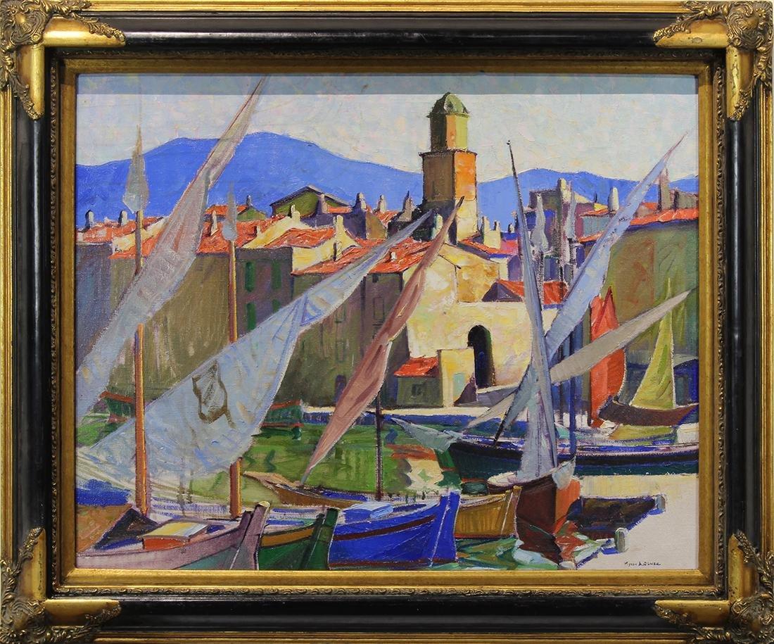 Painting, Myron Oliver - 2