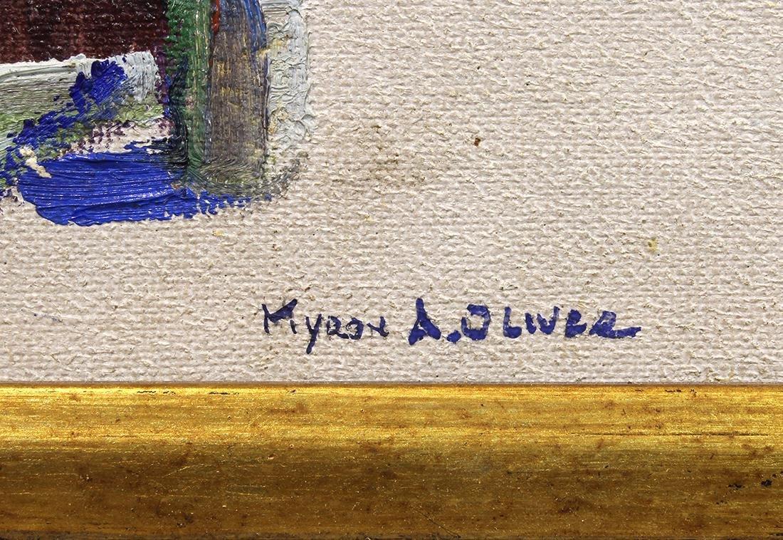 Painting, Myron Oliver - 4