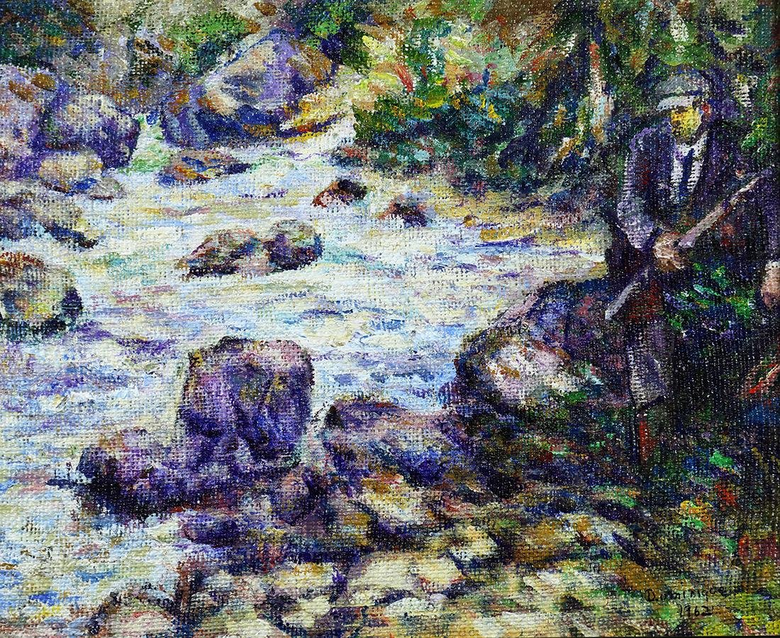 Painting, John A. Dominque